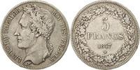 5 Francs, 5 Frank 1847 Belgium Leopold I EF(40-45)  120,00 EUR  +  10,00 EUR shipping