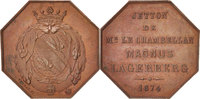 Token 1874 Other Coins  AU(55-58)  90.56 US$ 80,00 EUR  +  11.32 US$ shipping