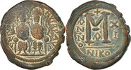 Follis Not Applicable Nicomedia  Justin II 565-578 EF(40-45)  107.54 US$ 95,00 EUR  +  11.32 US$ shipping