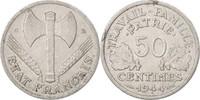 50 Centimes 1944 C Frankreich Bazor, Castelsarrasin, SS+, Aluminium SS+  30,00 EUR  zzgl. 10,00 EUR Versand