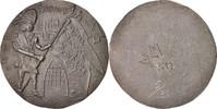 Medal 1980 France Beauvais, Fêtes Jeanne Hachette, History, Tin VZ  80,00 EUR  Excl. 10,00 EUR Verzending