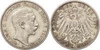 2 Mark 1907 A Deutsch Staaten PRUSSIA, Wilhelm II, Berlin, SS, Silber, ... 40,00 EUR  zzgl. 10,00 EUR Versand