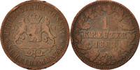 Kreuzer 1863 Wiesbaden Deutsch Staaten Adolph, Wiesbaden, S+, Copper, K... 12,00 EUR  zzgl. 10,00 EUR Versand