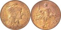 5 Centimes 1907 France Dupuis MS(64)  90,00 EUR  + 6,00 EUR frais d'envoi