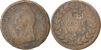 Decime 1795 A Frankreich Dupré VF(20-25)  120,00 EUR  zzgl. 10,00 EUR Versand