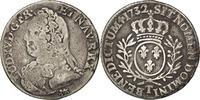 1/5 Ecu 1732 Nantes France 1715-1774 Louis XV le Bien-Aimé VF(30-35)  500,00 EUR free shipping