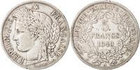 5 Francs 1849 A France Cérès, Paris, Silver, KM:761.1 SS  65,00 EUR  +  10,00 EUR shipping