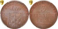 3 Pfennig 1834 D Deutsch Staaten PRUSSIA, Munich, PCGS MS65BN, KM:407 S... 250,00 EUR kostenloser Versand