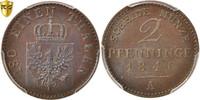 2 Pfennig 1846 A Deutsch Staaten PRUSSIA, PCGS, MS66BN, KM:452 STGL  160,00 EUR kostenloser Versand