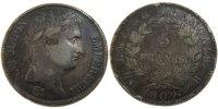 5 Francs 1809 B France Napoléon I EF(40-45)  180,00 EUR free shipping