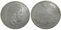 5 Francs 1834 A France Louis-Philippe AU(50-53)  140,00 EUR  excl. 10,00 EUR verzending