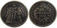5 Francs 1848 K Frankreich Hercule VF(20-25)  190,00 EUR kostenloser Versand