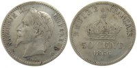50 Centimes 1866 K France Napoléon III Napoleon III VF(30-35)  85,00 EUR  +  10,00 EUR shipping