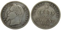Semi Moderns (1805-1899) 50 Centimes 1868 Strasbourg s French Moderns Fr... 260,00 EUR