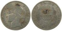 50 Centimes 1872 A France Cérès VF(30-35)  55,00 EUR  +  10,00 EUR shipping