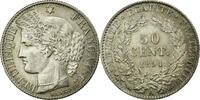 50 Centimes 1894 A France Cérès AU(50-53)  4086 руб 60,00 EUR  +  681 руб shipping