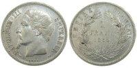 Franc 1854 A France Napoléon III Napoleon III AU(50-53)  260,00 EUR free shipping