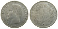 Semi Moderns (1805-1899) 1 Franc 1858 Paris ss+ French Moderns Frankreic... 8837 руб