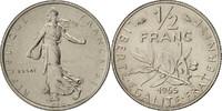 1/2 Franc 1965 France Essai, Nickel, KM:E112, Gadoury:429 STGL  250,00 EUR free shipping