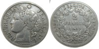 Semi Moderns (1805-1899) 2 Francs 1881 Paris ss French Moderns Frankreic... 85.70 US$