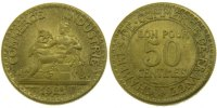 Moderns (1900-1958) 50 Centimes 1921 unz- French Moderns Frankreich III ... 55,00 EUR