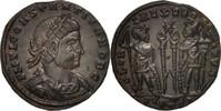 Follis Arles  Constantius II, Arles, Bronze, RIC:347 VZ+  72.68 US$ 68,00 EUR  +  10.69 US$ shipping