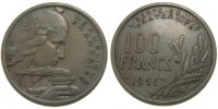 Moderns (1900-1958) 100 Francs 1958 ss+ French Moderns Frankreich IV th ... 414.19 US$