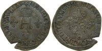 Demi Gros de Nesle 1551 Paris France 1547-1559 Henri II EF(40-45)  90,00 EUR  +  10,00 EUR shipping