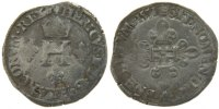 French Royal Demi Gros de Nesle 1551 Paris...