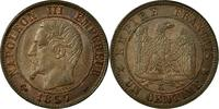 Semi Moderns (1805-1899) 1 Centime 1857 Bordeaux ss+ French Moderns Fran... 9097 руб