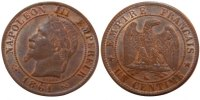 Semi Moderns (1805-1899) 1 Centime 1861 Bordeaux unz- Second Empire, 1 C... 70,00 EUR