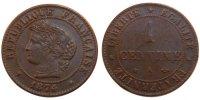 Centime 1874 A France Cérès AU(50-53)  65,00 EUR  +  10,00 EUR shipping