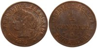 Semi Moderns (1805-1899) 1 Centime 1875 Paris unz- French Moderns Frankr... 80,00 EUR