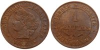 Semi Moderns (1805-1899) 1 Centime 1885 Paris unz- French Moderns Frankr... 55,00 EUR