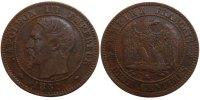 2 Centimes 1857 MA France Napoléon III Napoleon III AU(50-53)  90,00 EUR  +  10,00 EUR shipping