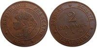 2 Centimes 1878 K France Cérès MS(60-62)  60,00 EUR  Excl. 10,00 EUR Verzending