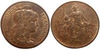 5 Centimes 1900 Paris Frankreich Dupuis MS(60-62)  65,00 EUR