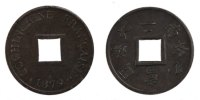 Colonial Sapèque 1879 Paris unz- Colonial coins Französische Kolonien Co... 300,00 EUR