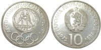 10 Leva 1975 Bulgaria 10th Olympic Congress MS(60-62)  67.92 US$ 60,00 EUR  +  11.32 US$ shipping