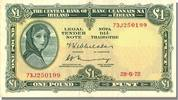 Ireland 1 Pound 1972 unz- Foreign Banknoten Ireland, 1 Pound Type Lady H... 70,00 EUR
