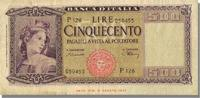 500 Lire 1948 Italy  EF(40-45)  80,00 EUR  +  10,00 EUR shipping
