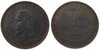 5 Centimes 1853 Lille France Emperor and Empress visit to the Bourse MS... 198,00 EUR gratis verzending