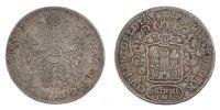 8 Schilling, 1/2 Mark 1727 Deutsch Staaten  EF(40-45)  70,00 EUR  zzgl. 10,00 EUR Versand
