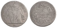 French Revolution (1789-1804) 5 Francs 1801 Bayonne sge French Revolutio... 120,00 EUR