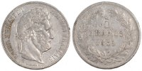 Semi Moderns (1805-1899) 5 Francs 1839 Bordeaux unz- French Moderns Fran... 250,00 EUR