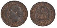 Semi Moderns (1805-1899) 5 Centimes 1854 Paris unz- French Moderns Frank... 5198 руб