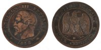 2 Centimes 1853 D France Napoléon III Napoleon III EF(40-45)  280,00 EUR free shipping
