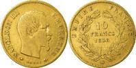 10 Francs 1858 BB France Napoléon III Napoleon III EF(40-45)  290,00 EUR free shipping