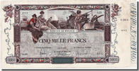 5000 Francs 1918 Frankreich  VF(30-35)