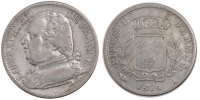 5 Francs 1814 I France Louis XVIII Louis XVIII VF(30-35)  21159 руб 290,00 EUR  +  730 руб shipping